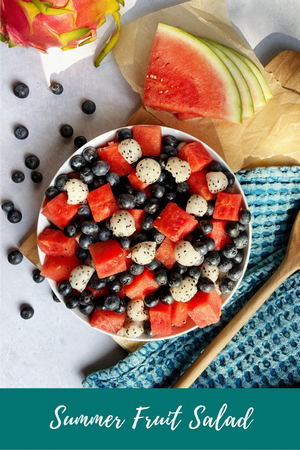 Easy and Fresh Summer Fruit Salad
