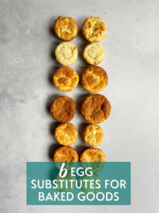 Egg Substitutes For Baked Goods
